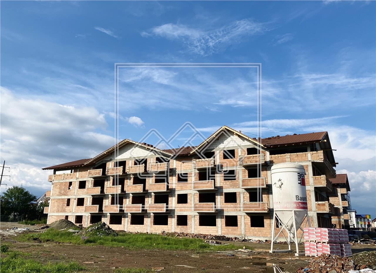 Apartament de vanzare in Sibiu - R- ansamblu rezidential nou -