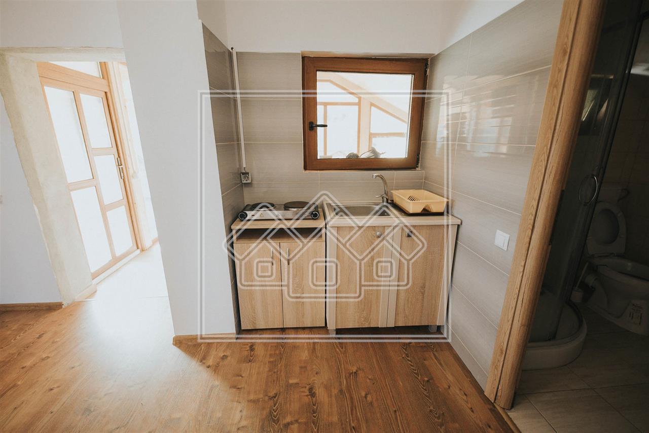 Apartament de inchiriat in Sibiu - la casa - sat Tocile - zona superba