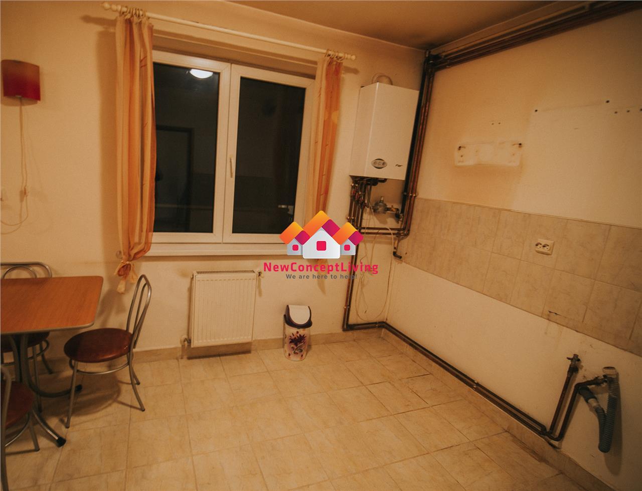Apartament de vanzare in Sibiu -2 camere cu balcon- Zona buna