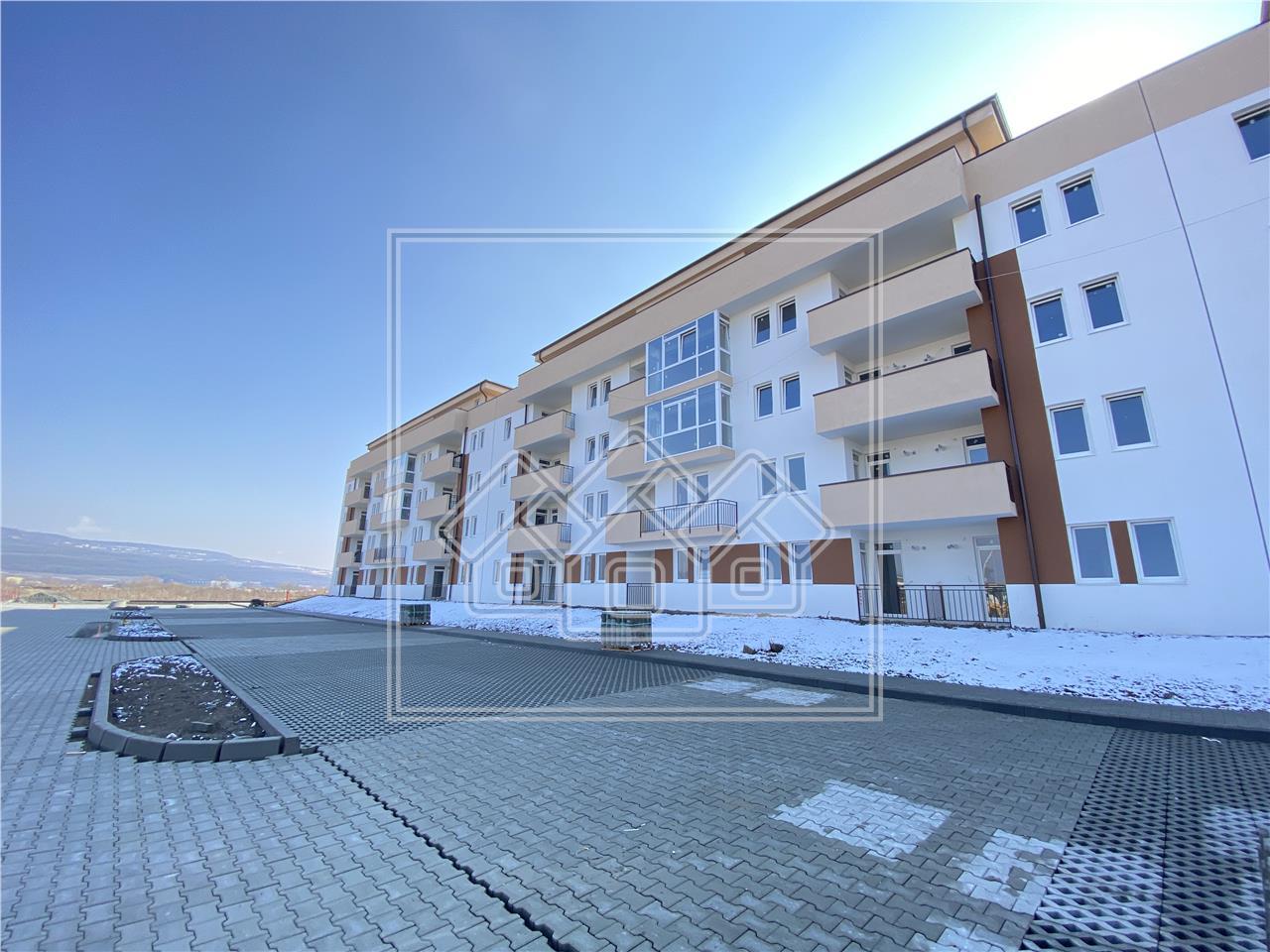 Garsoniera de vanzare in Sibiu- 40 mp utili +terasa mare de 45 mp