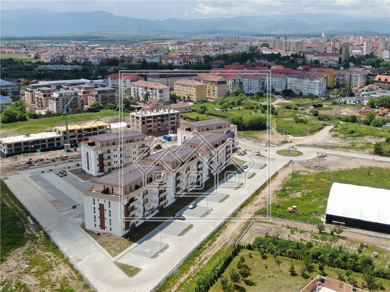 Garsoniera LUX de vanzare in Sibiu- decomandata si o terasa de 43 mp