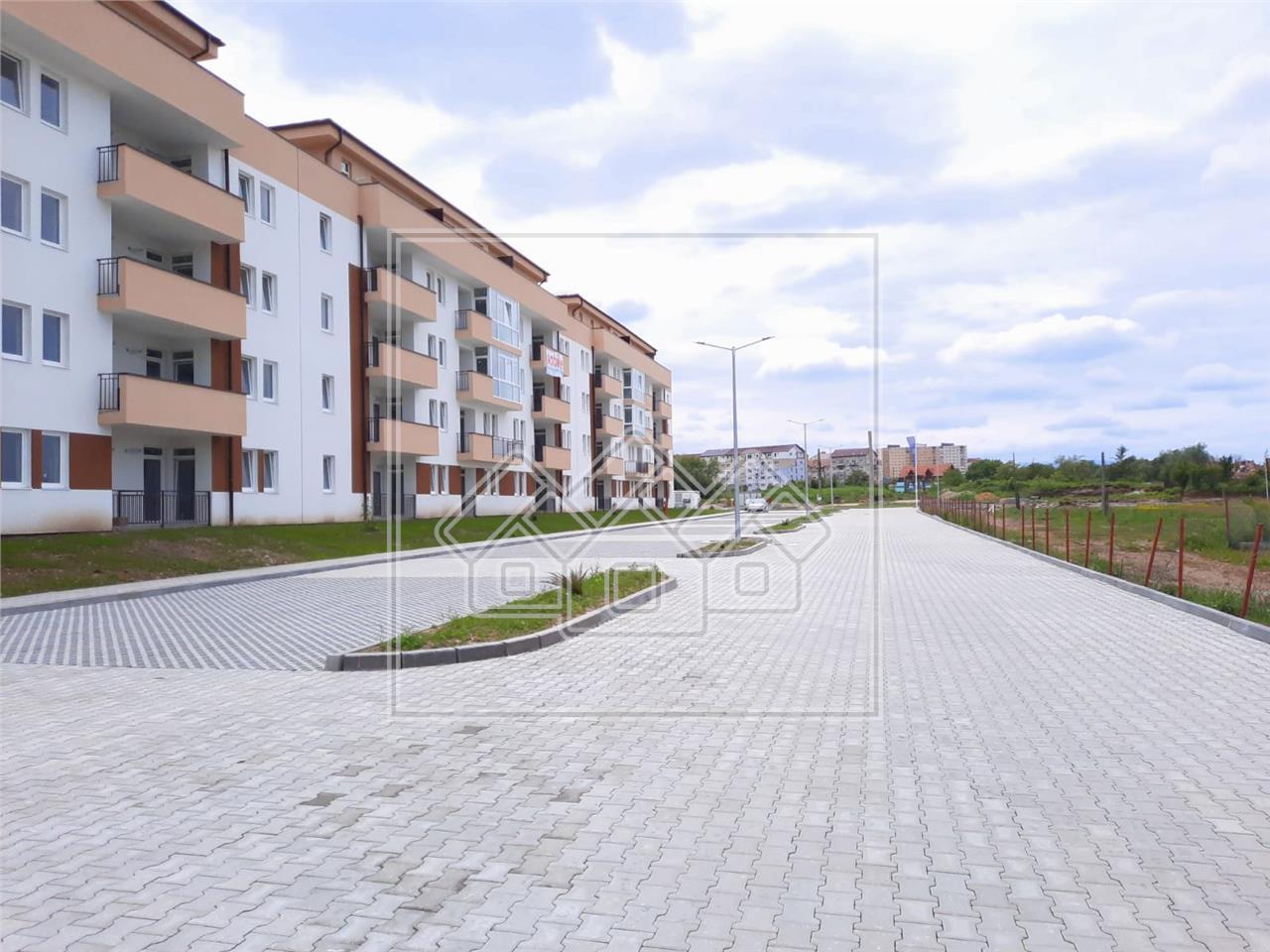Apartament de vanzare in Sibiu - 2 camere si 2 balcoane - zona PREMIUM