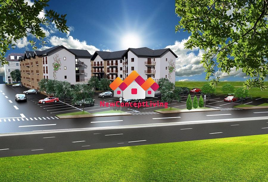 Apartament 3 camere de vanzare in Sibiu - DECOMANDAT 64,05 mp+Terasa