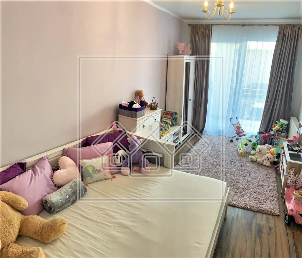 Apartament de vanzare in Sibiu 3 camere Mobilat de Lux- Imobil Nou