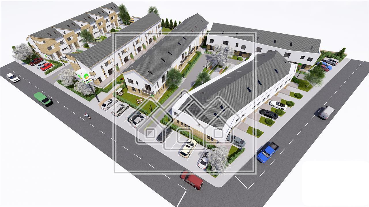 Apartament 2 camere de vanzare in Sibiu, parter cu gradina 56 mp