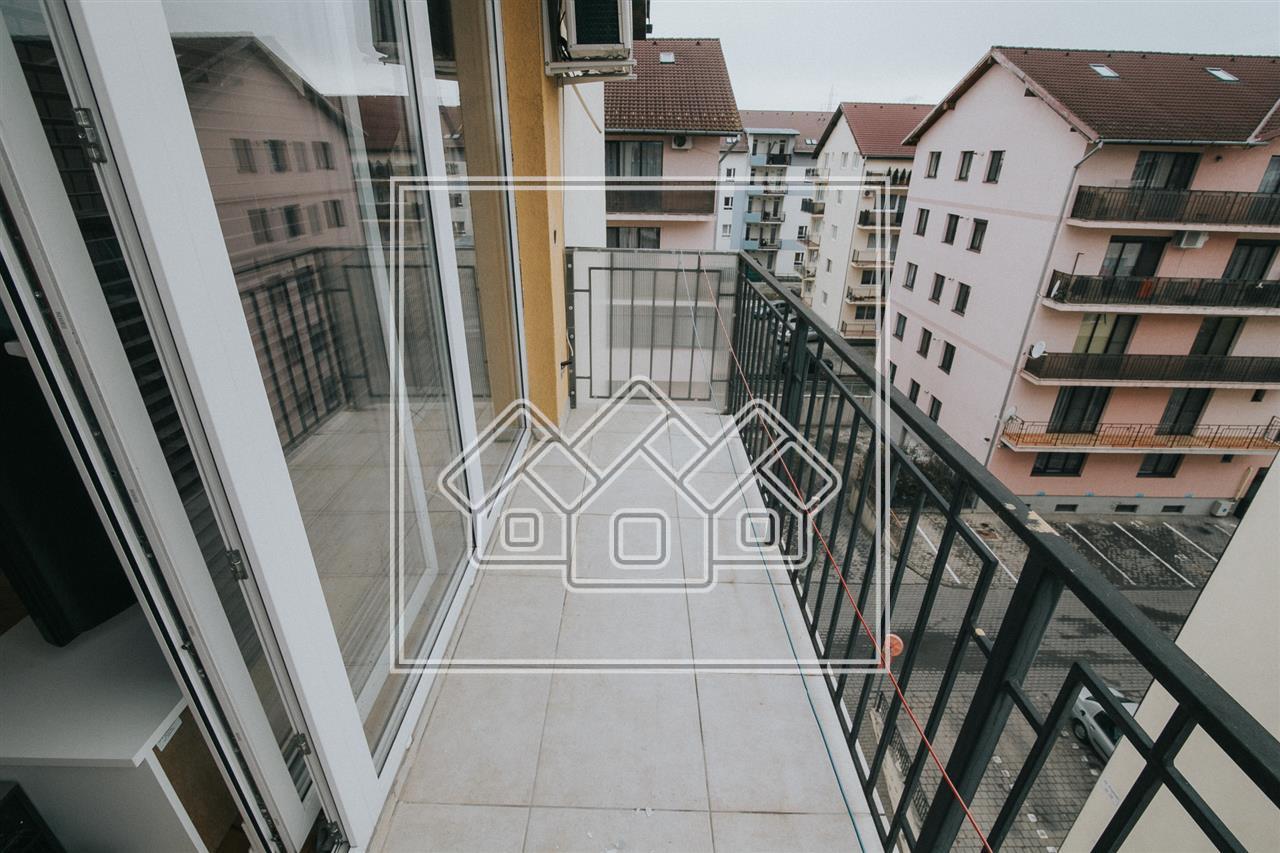 Apartament 2 camere de vanzare in Sibiu -cu balcon- mobilat si utilat
