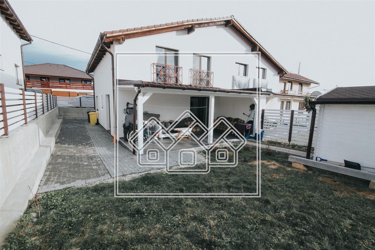 Casa de vanzare in Sibiu- Bavaria- Mobilata si utilata modern