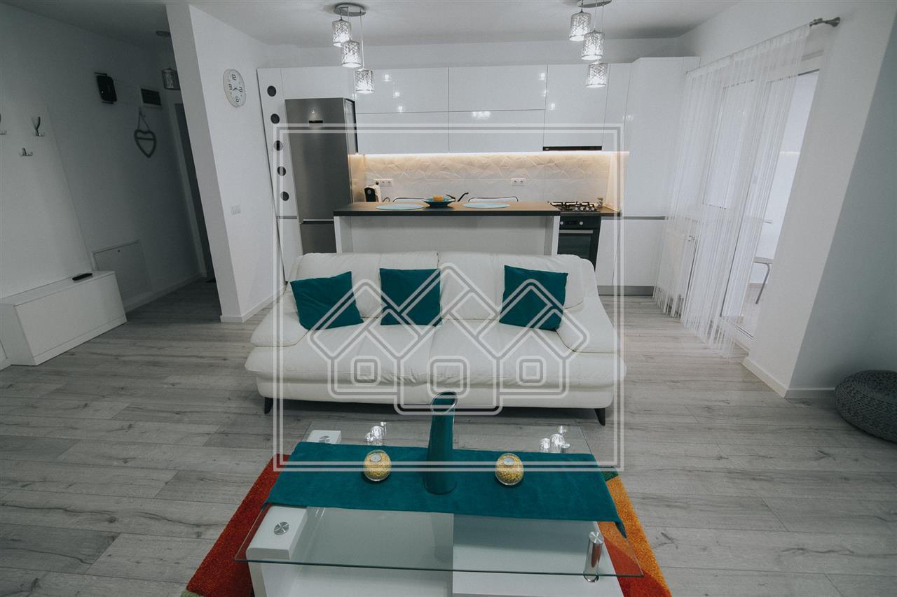 Apartament 3 camere de inchiriat  in Sibiu -mobilat si utilat modern-