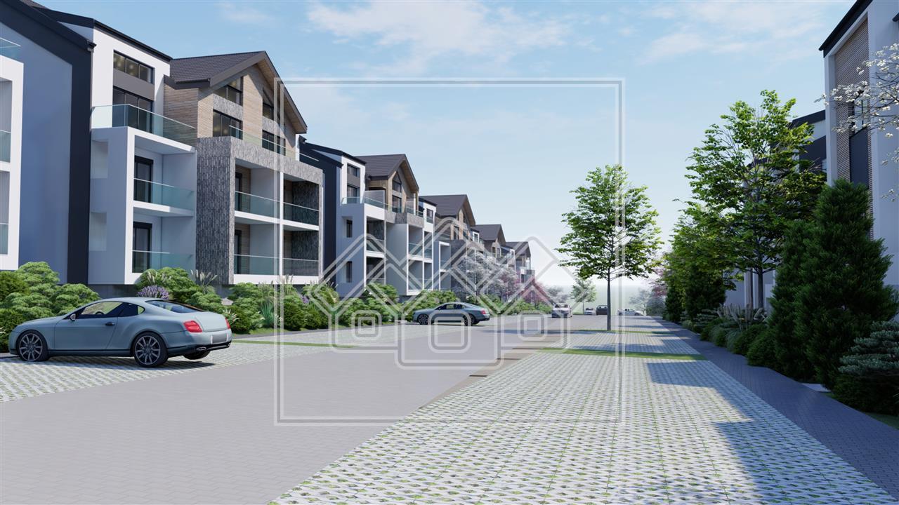 Apartament de vanzare in Sibiu - 3 camere - 2 bai - logie de 12.84 mp