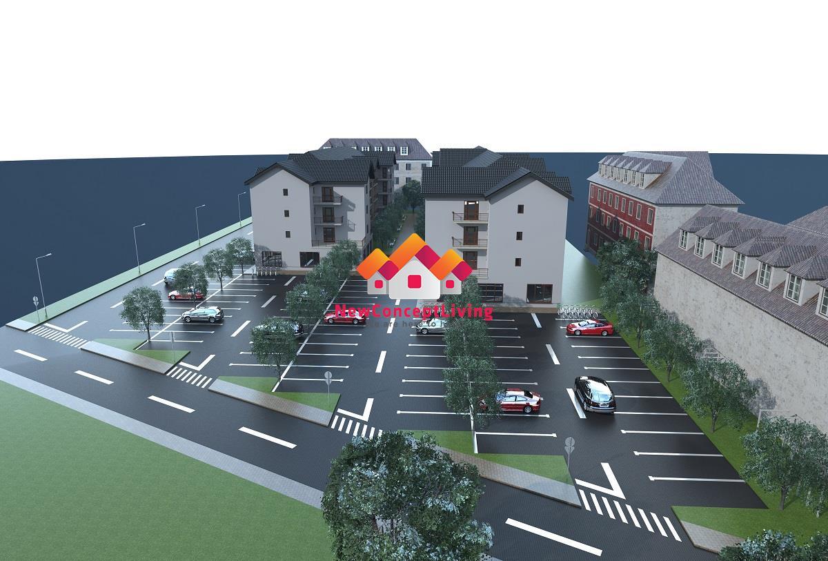 Apartament 2 camere de vanzare Sibiu -BUCATARIE SEPARATA-2 TERASE