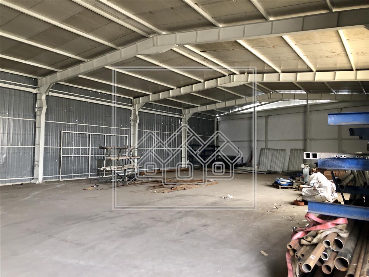 Spatiu industrial de inchiriat in Sibiu + birouri