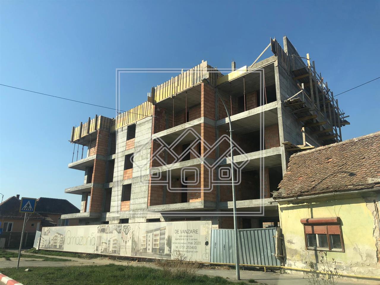 Spatiu comercial de vanzare in Sibiu - imobil nou  - zona Piata Cluj