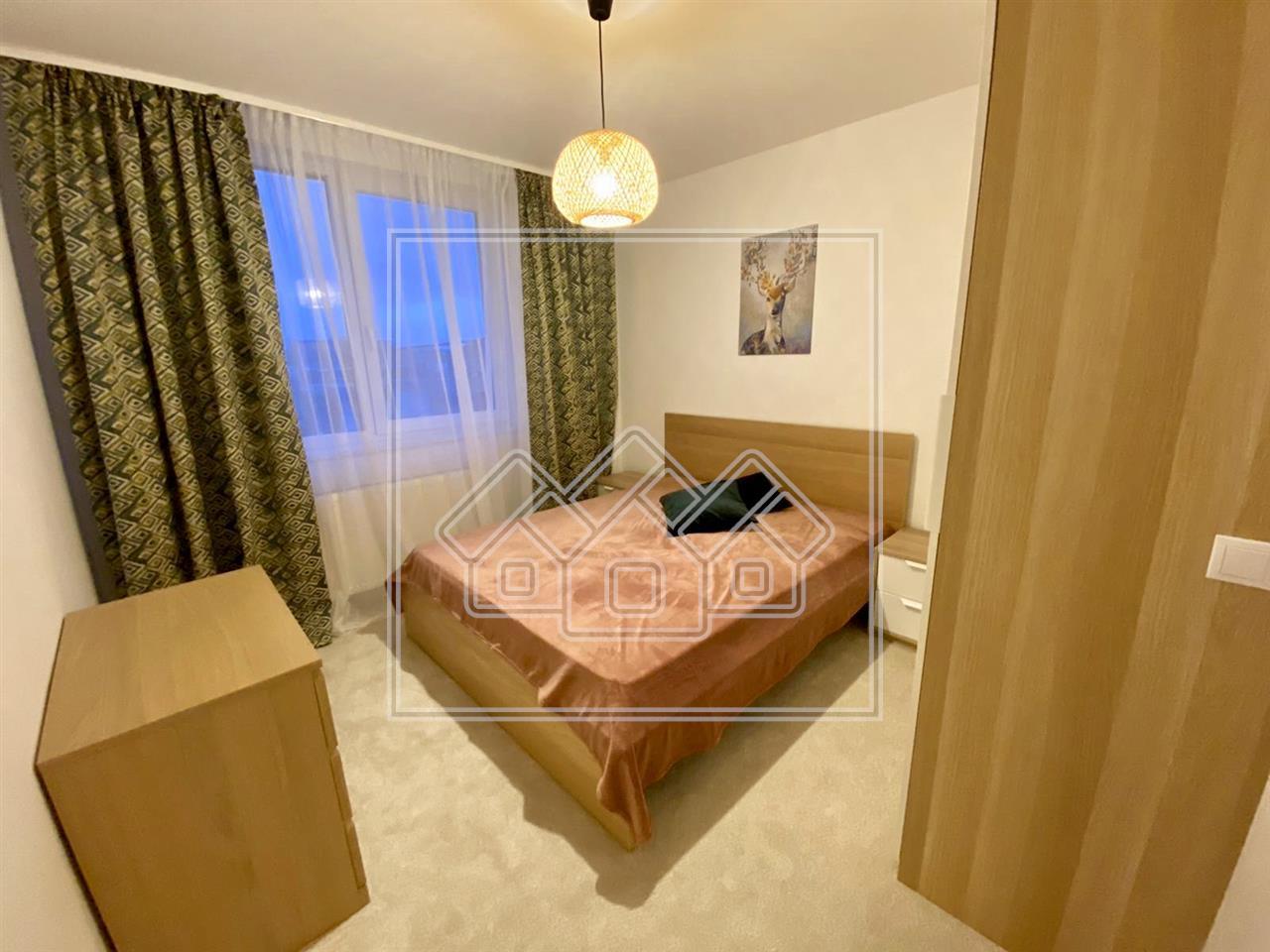 Apartament cu 2 camere decomandat in Sibiu - zona Lacul lui Binder