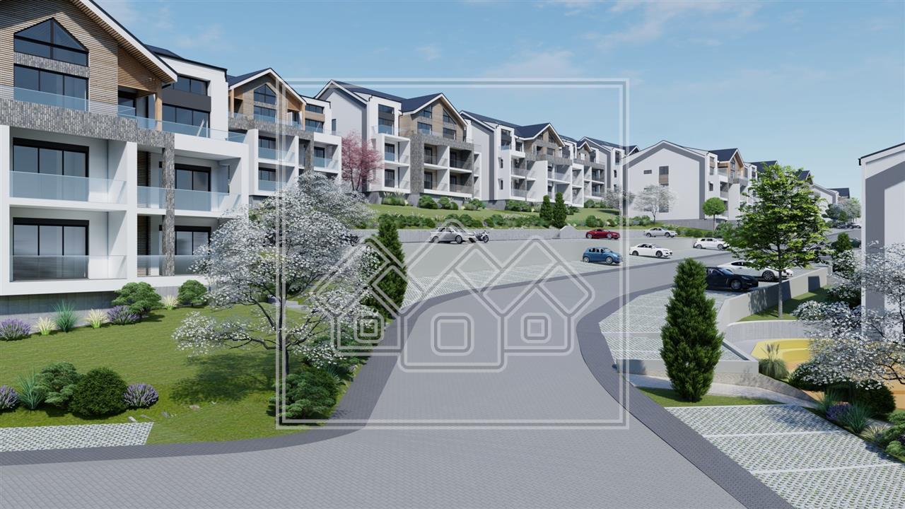 Apartament 2 camere de vanzare in Sibiu - 52.26 mp + logie de 7.42 mp