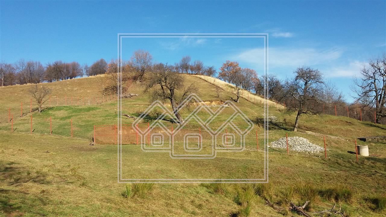 Teren de vanzare in zona turistica Cisnadioara 3600 mp