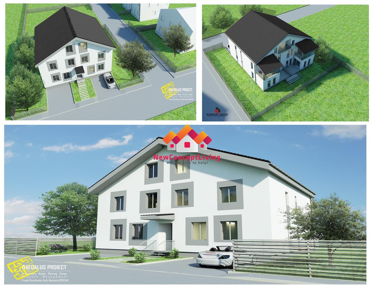 Apartament 5 camere de vanzare in Sibiu -106 mp utili -decomandat