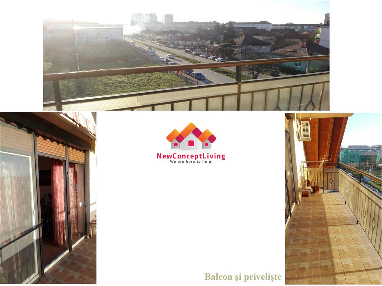 Apartament de inchiriat 3 camere, central, mobilat si utilat LUX