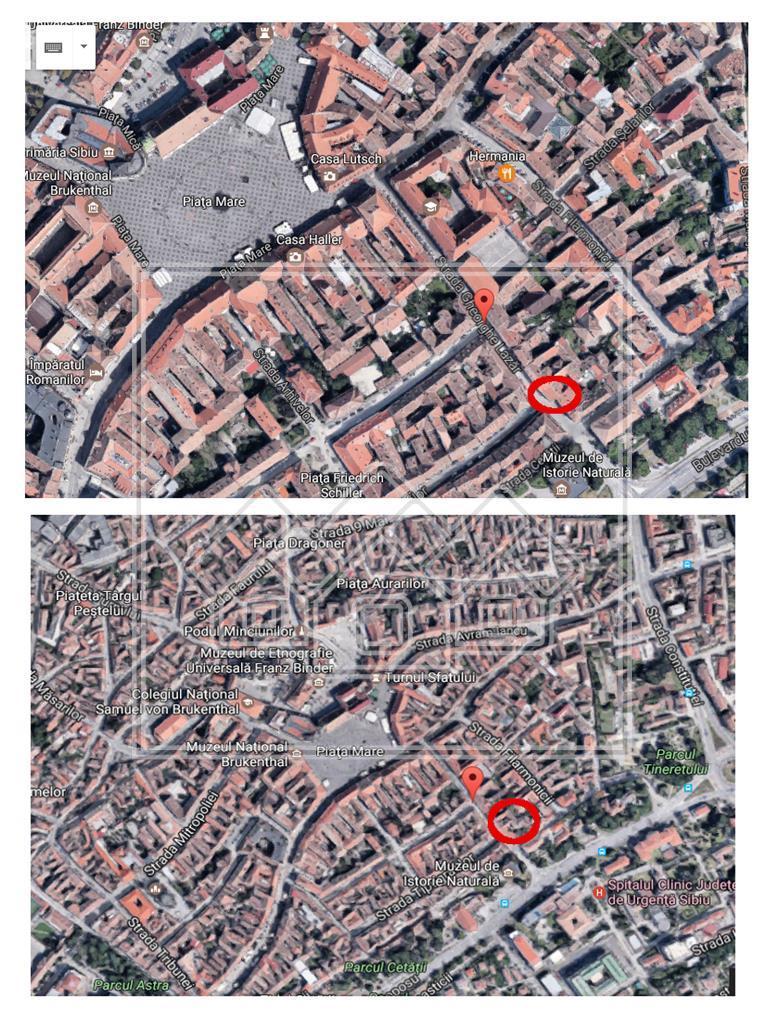 Apartament 2 camere de vanzare in Sibiu -60 mp utili-Centrul Istoric
