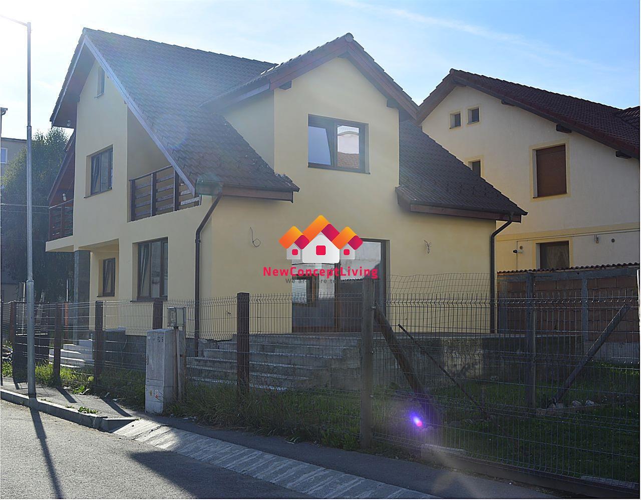 Casa 4 camere in Sibiu - cu terasa mare si curte