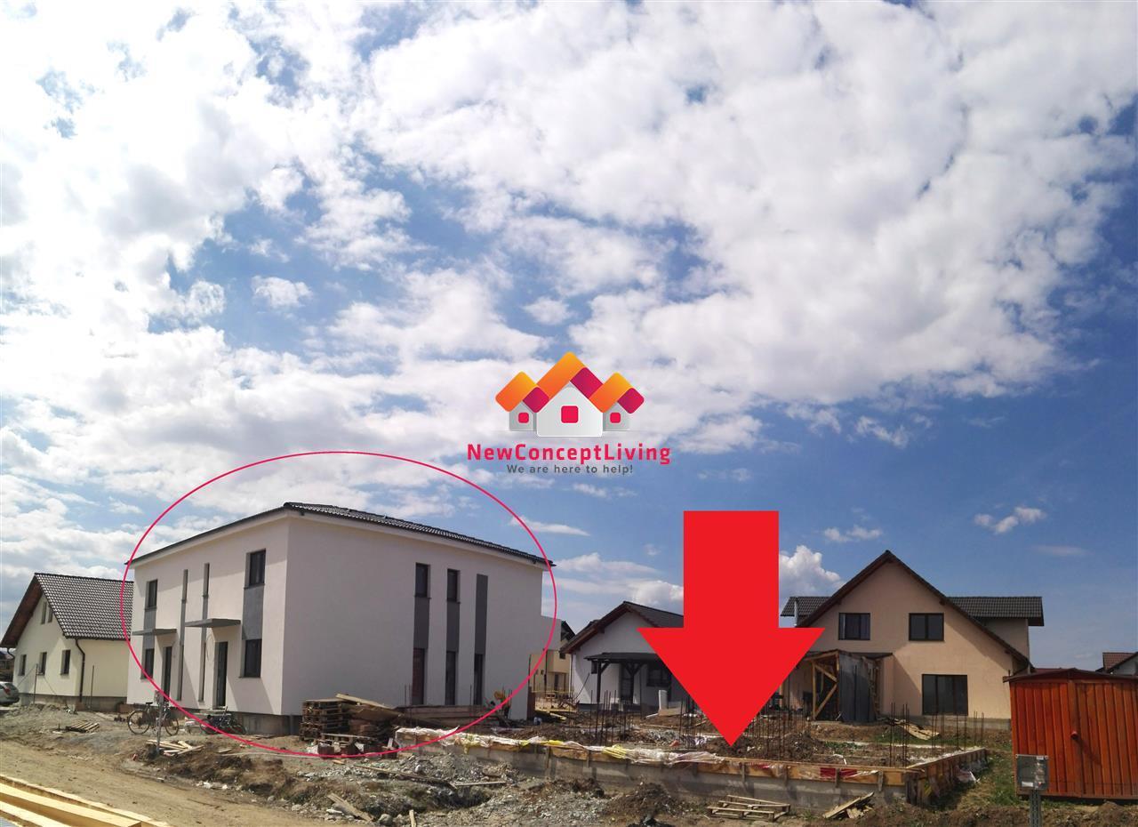 Casa de vanzare in Sibiu -DUPLEX- Calea Cisnadiei - 4 camere mari
