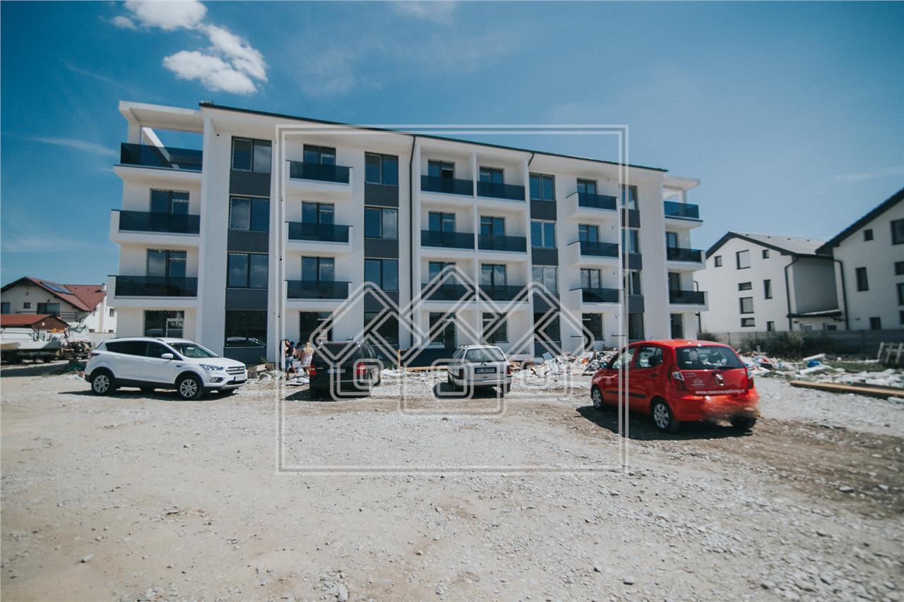 Apartament de vanzare in Sibiu - Selimbar - 3 camere + gradina proprie