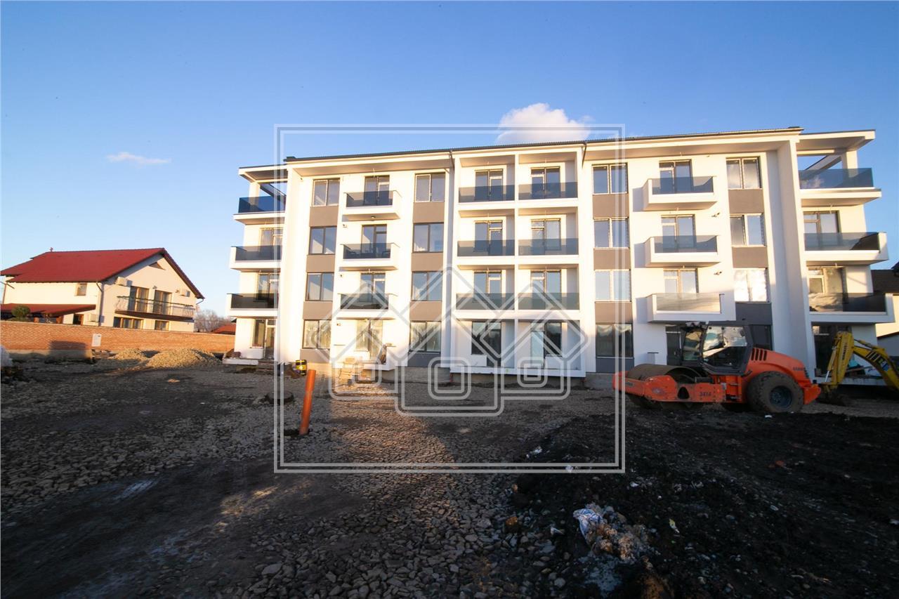 Apartament cu 3 camere de vanzare in Sibiu - Selimbar -et. intermediar