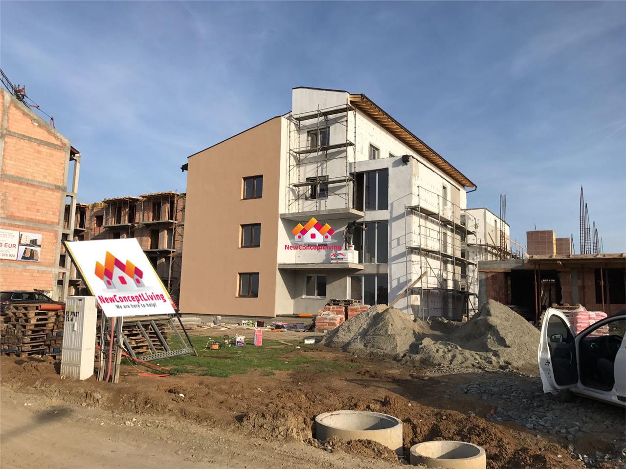 Apartament 3 camere de vanzare in Sibiu -Mini penthouse -terasa mare