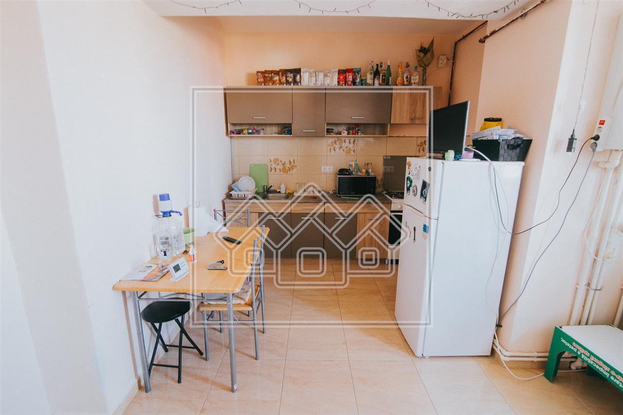 Apartament de vanzare in Sibiu cu 2 cam si balcon- Mobilat si utilat
