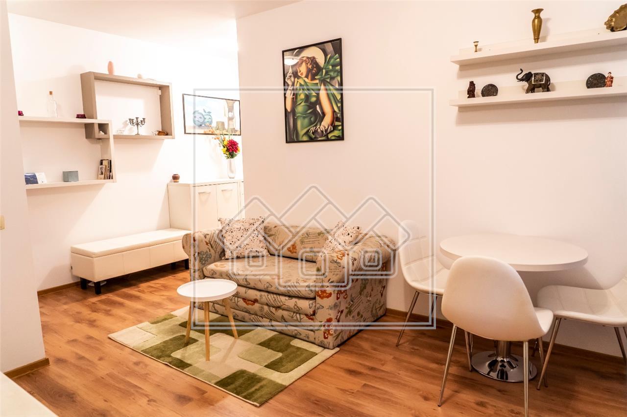 Apartament de inchiriat in Sibiu - 3 camere -mobilat modern- V. Aurie
