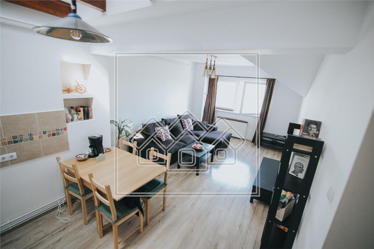 Apartament in Sibiu - 3 camere - 64 mp utili + balcon