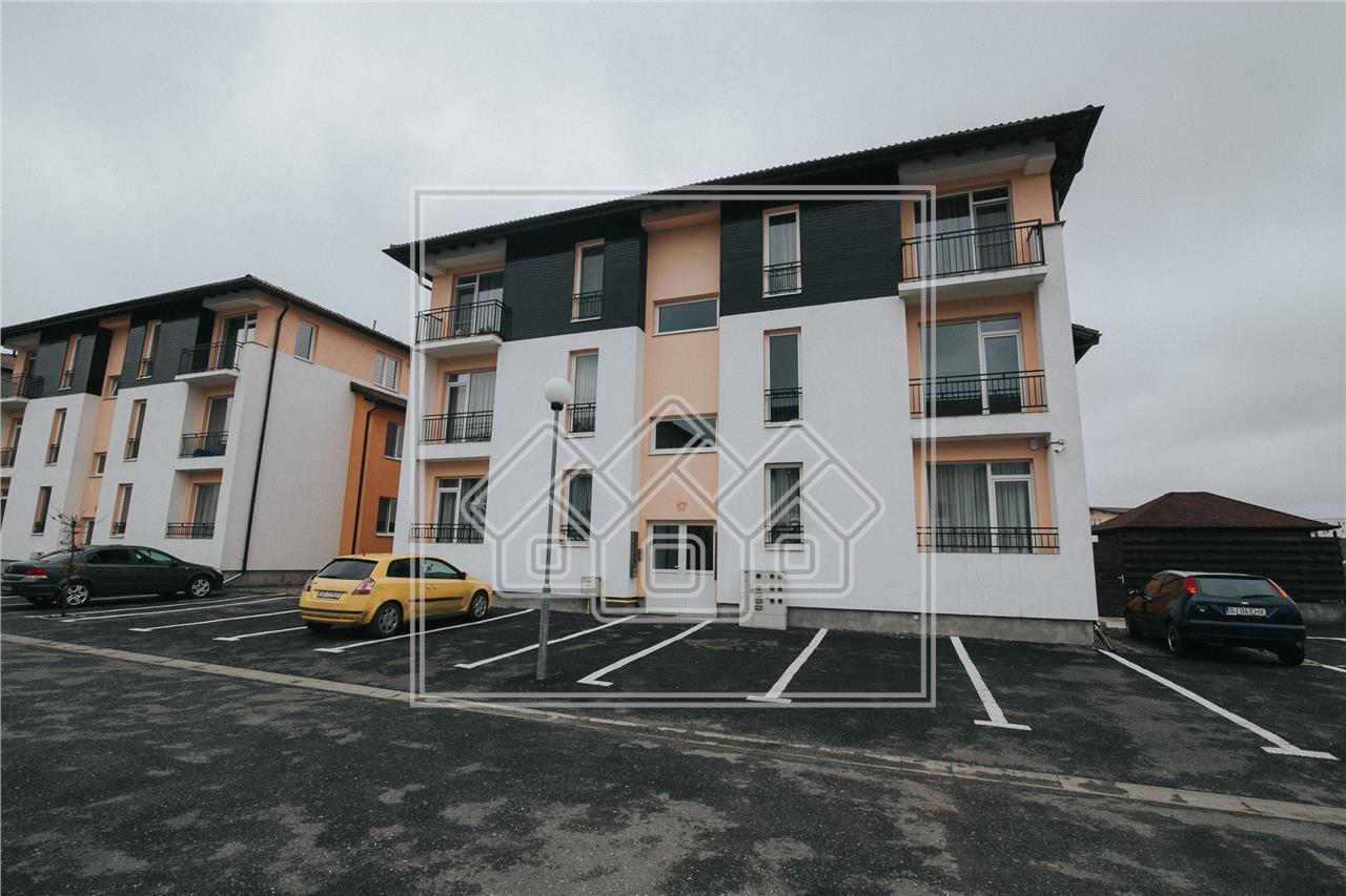 Apartament de vanzare in Sibiu - decomandat - 3 camere - Selimbar