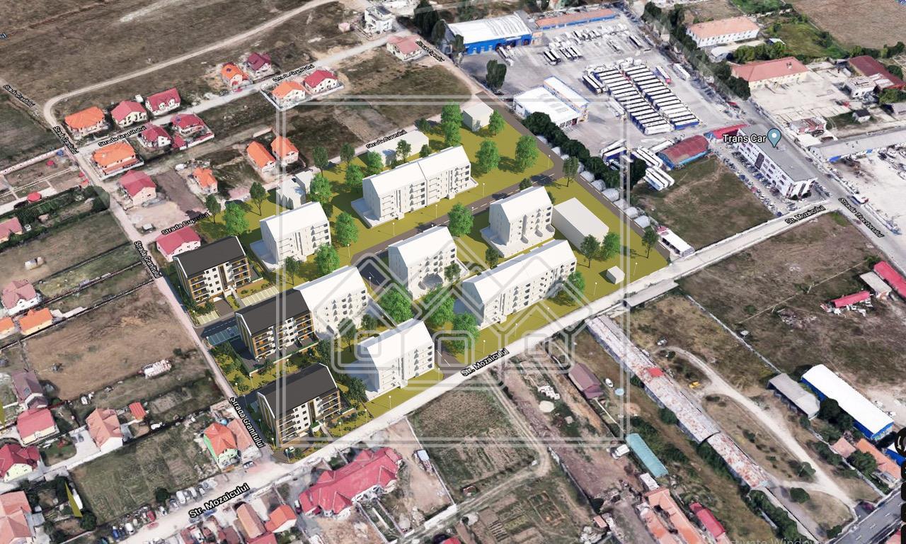 Apartament 2 camere cu terasa de 35 mp - concept nou