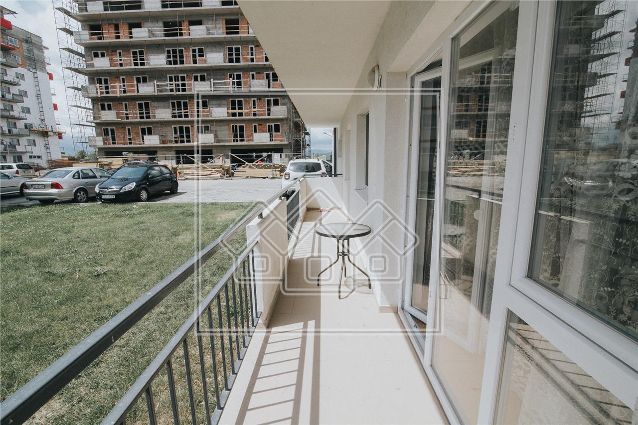 Apartament de vanzare in Sibiu- 3 camere si balcon- mobilat si utilat