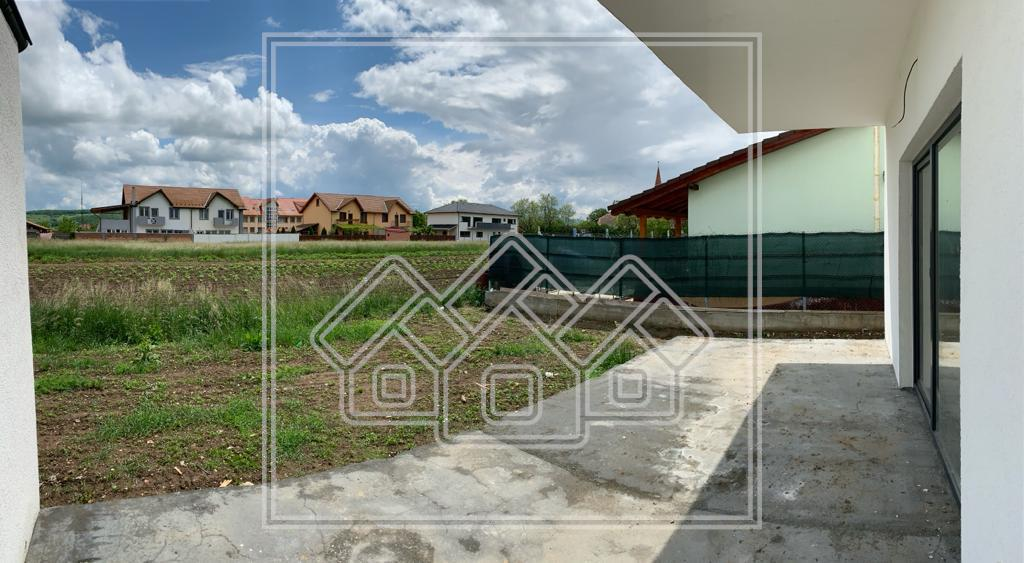 Casa de vanzare in Sibiu - Selimbar - La Alb cu Pod de 50 Mp