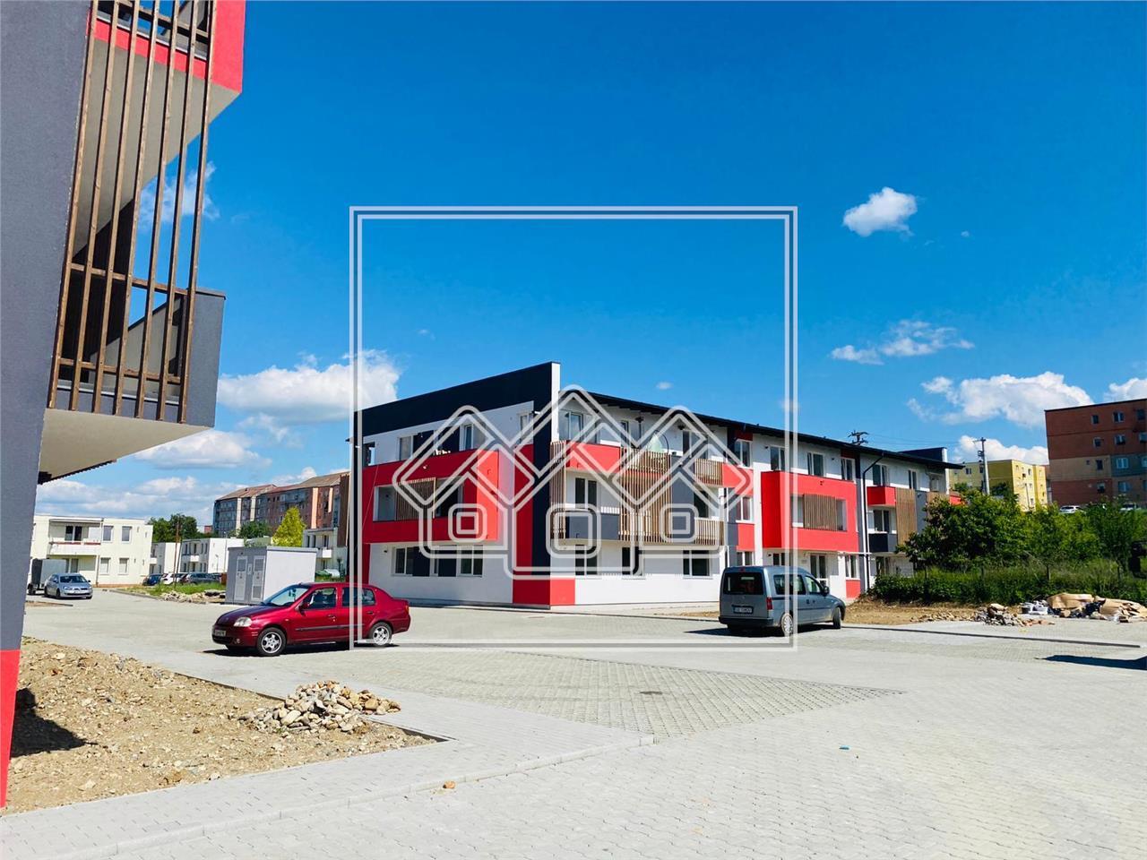 Apartament de vanzare in Sibiu - Cisnadie - 3 camere - etaj 1(R)