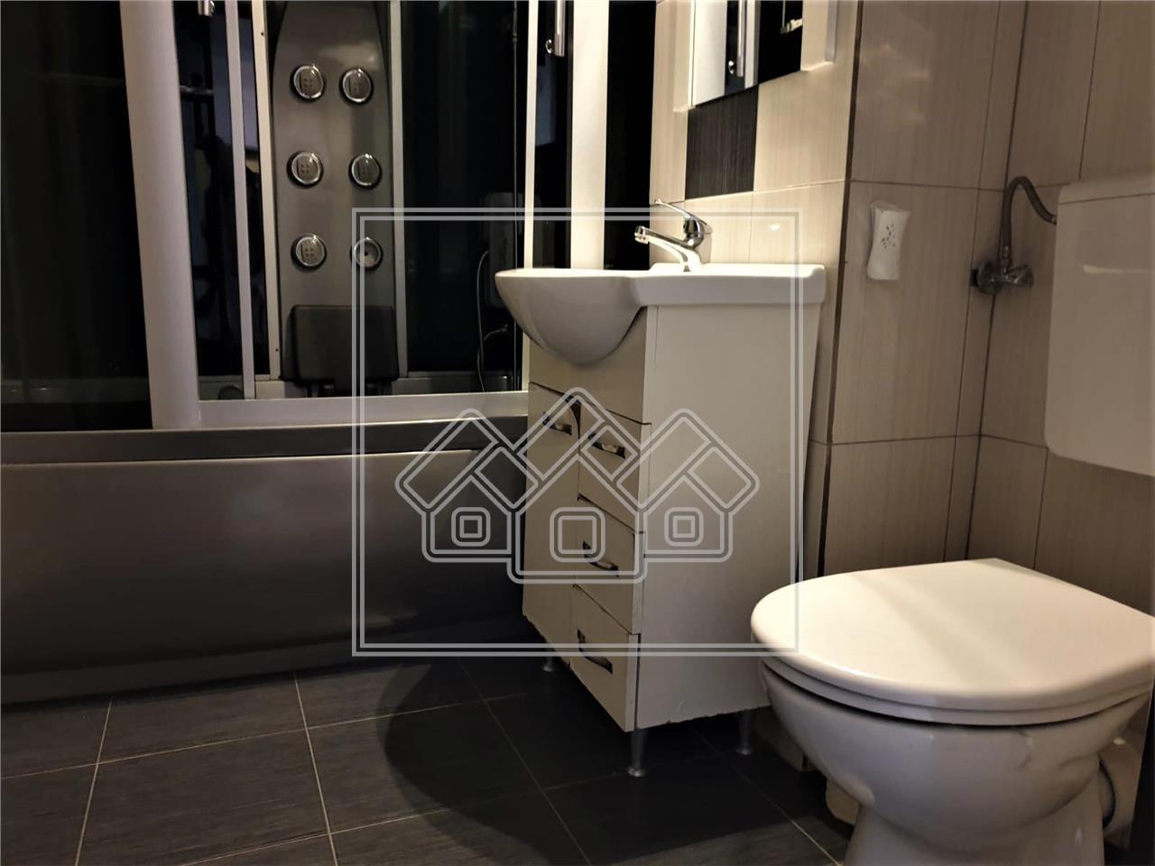 Apartament de vanzare in Sibiu-3 camere si 2 balcoane-Zona Valea Aurie