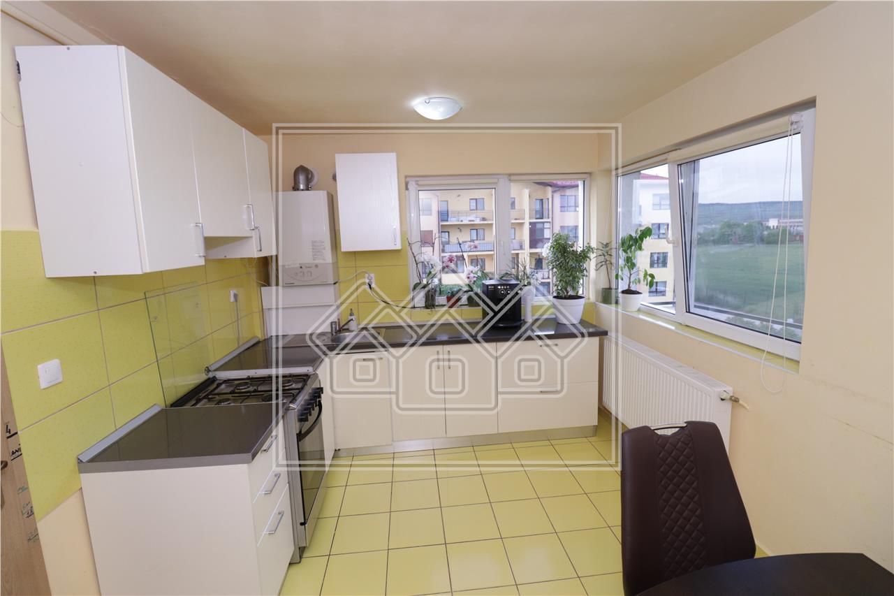 Apartament de vanzare in Sibiu - Mobilat si Utilat - Pictor Brana