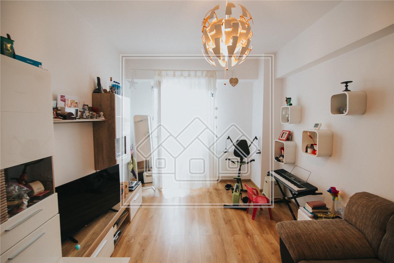 Apartament de vanzare in Sibiu -2 camere cu balcon-Zona Mihai Viteazu