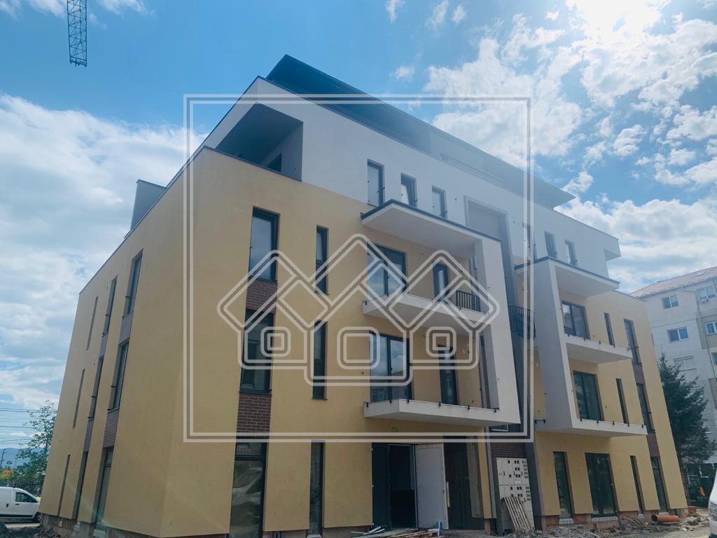 Penthouse de vanzare in Sibiu cu 3 camere si Terasa de 52mp.