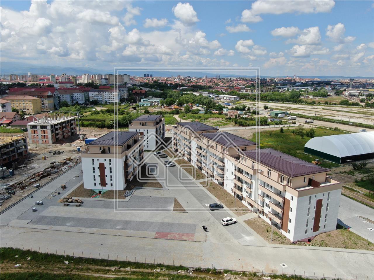 Wohnung zum Verkauf in Sibiu - 2 Zimmer und Ankleidezimmer