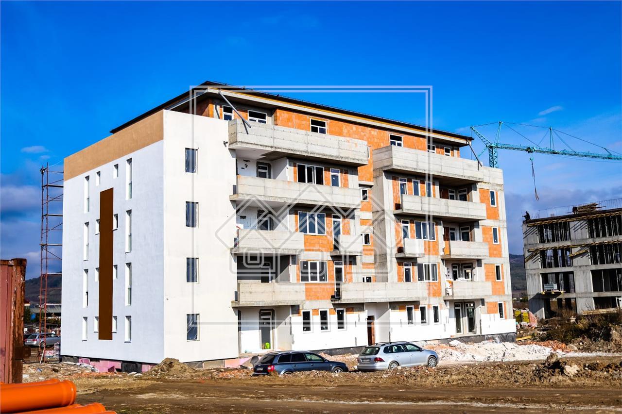 Apartament de vanzare in Sibiu -2 camere si 2 balcoane - Henri Coanda