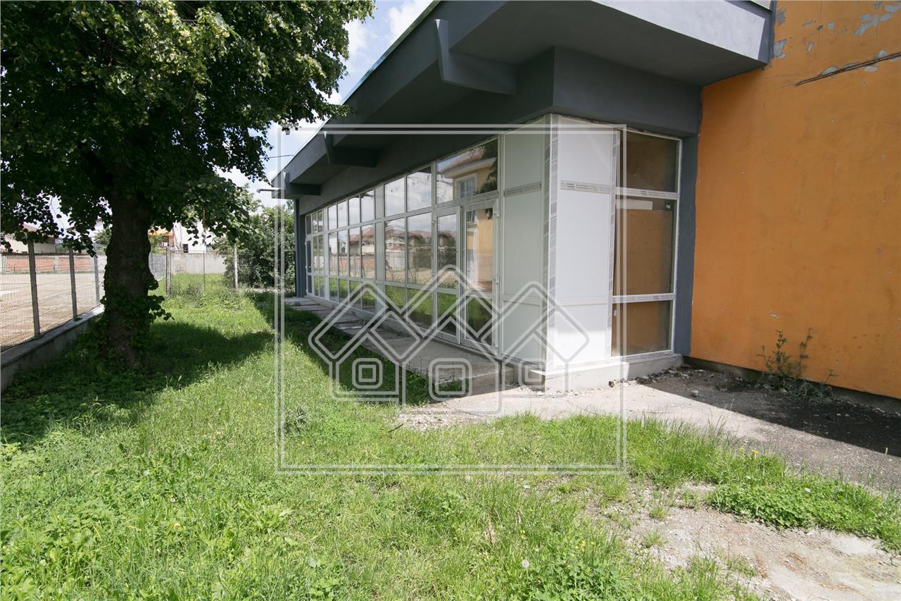 Spatiu comercial de inchiriat in Sibiu -105 mp utili- Zona Tiglari