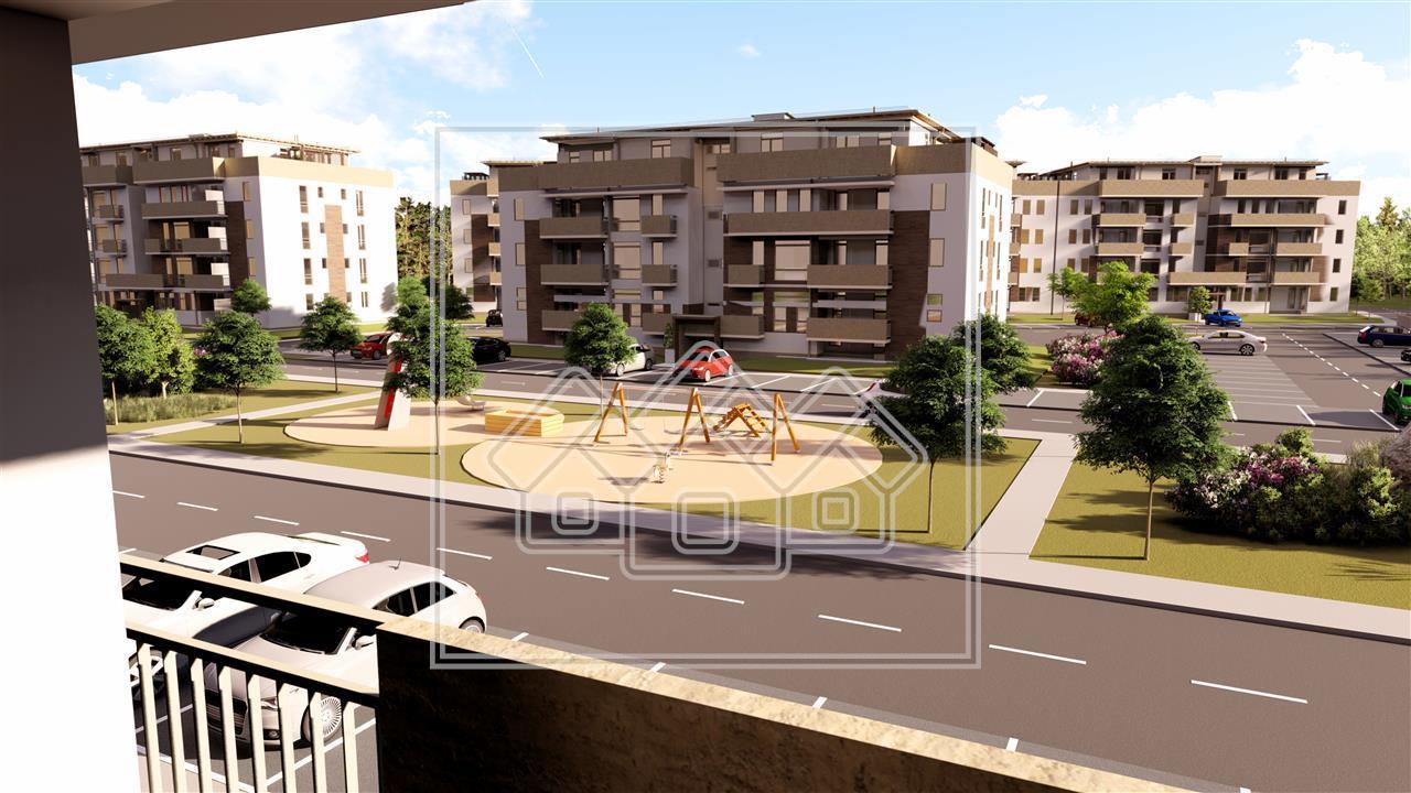 Apartament de vanzare in Sibiu - la etaj intermediar - imobil cu lift