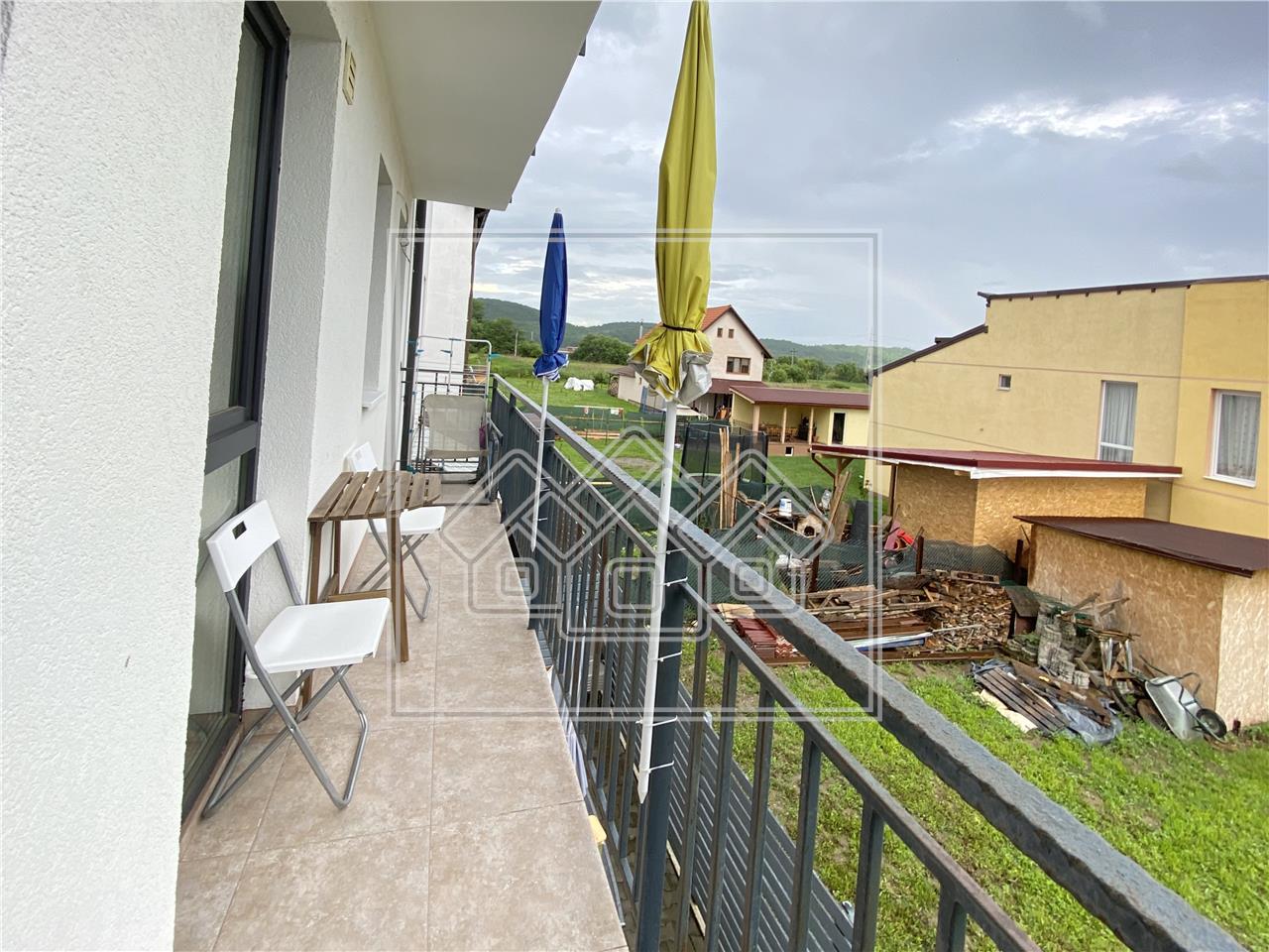 Apartament de vanzare in Sibiu - Selimbar - mobilat si utilat modern