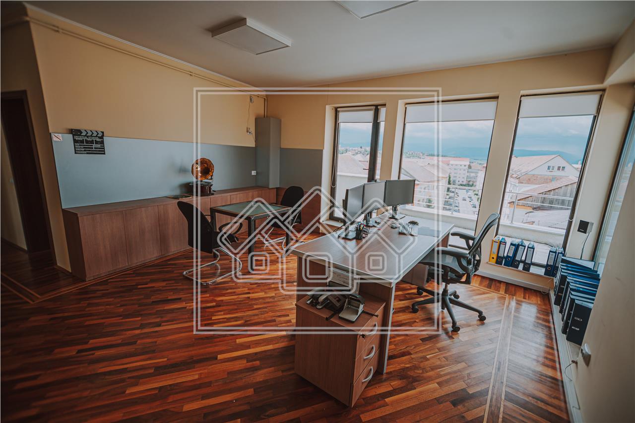 Penthouse de vanzare in Sibiu - terasa de 91 mp - zona PREMIUM -Strand