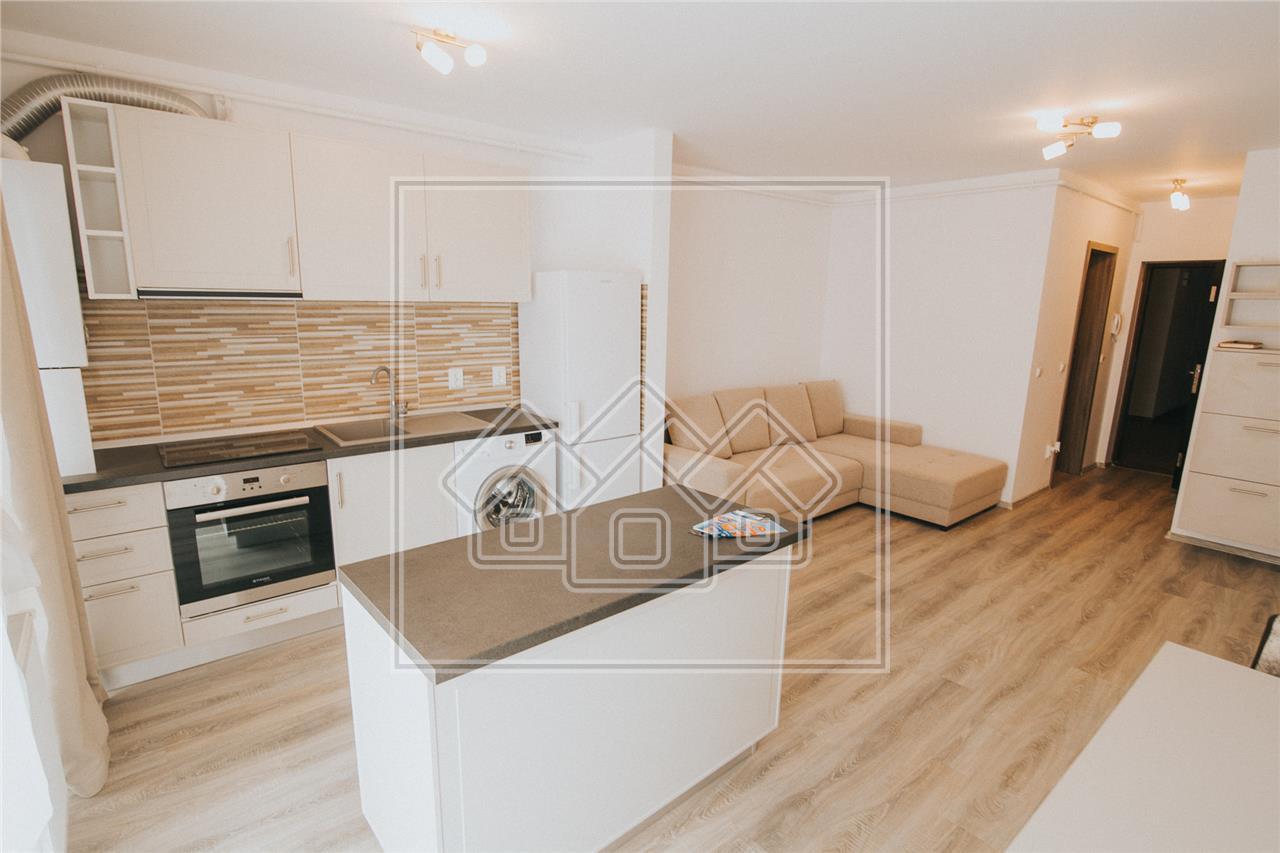 Apartament de inchiriat in Sibiu -2 camere si balcon-mobilat si utilat
