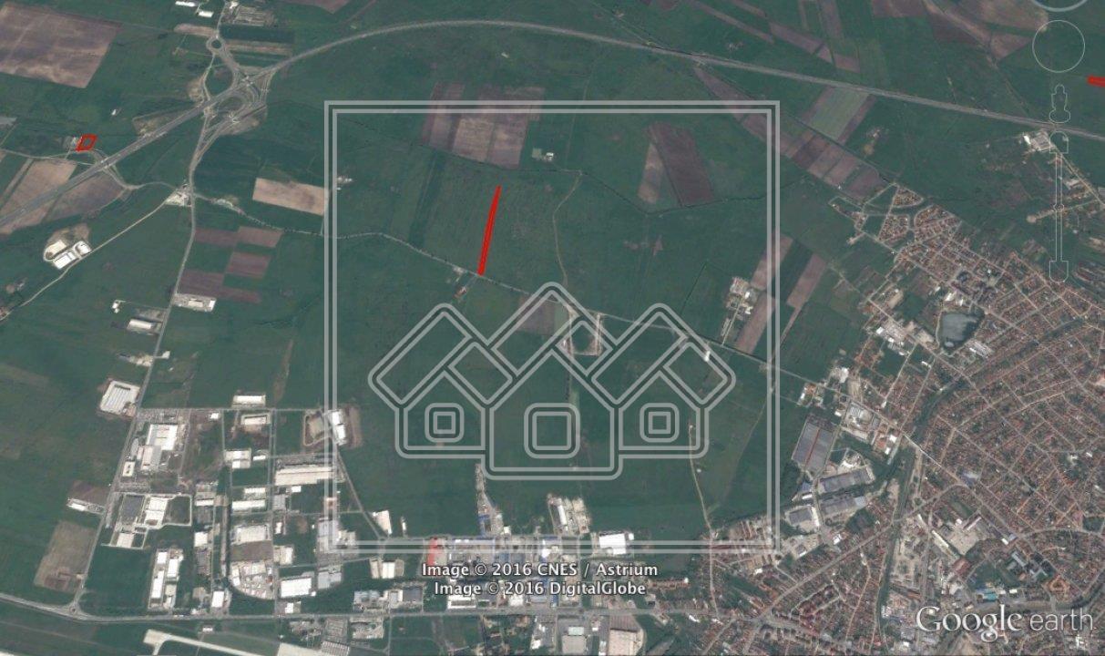 Teren de vanzare in Sibiu - Calea Surii Mici - deschidere la DJ143B