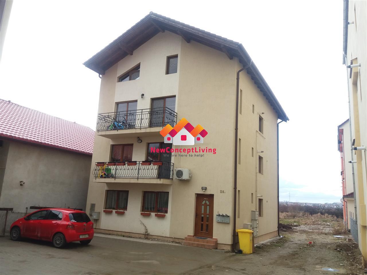 Apartament cu 5 camere de vanzare in Sibiu - finisat la cheie