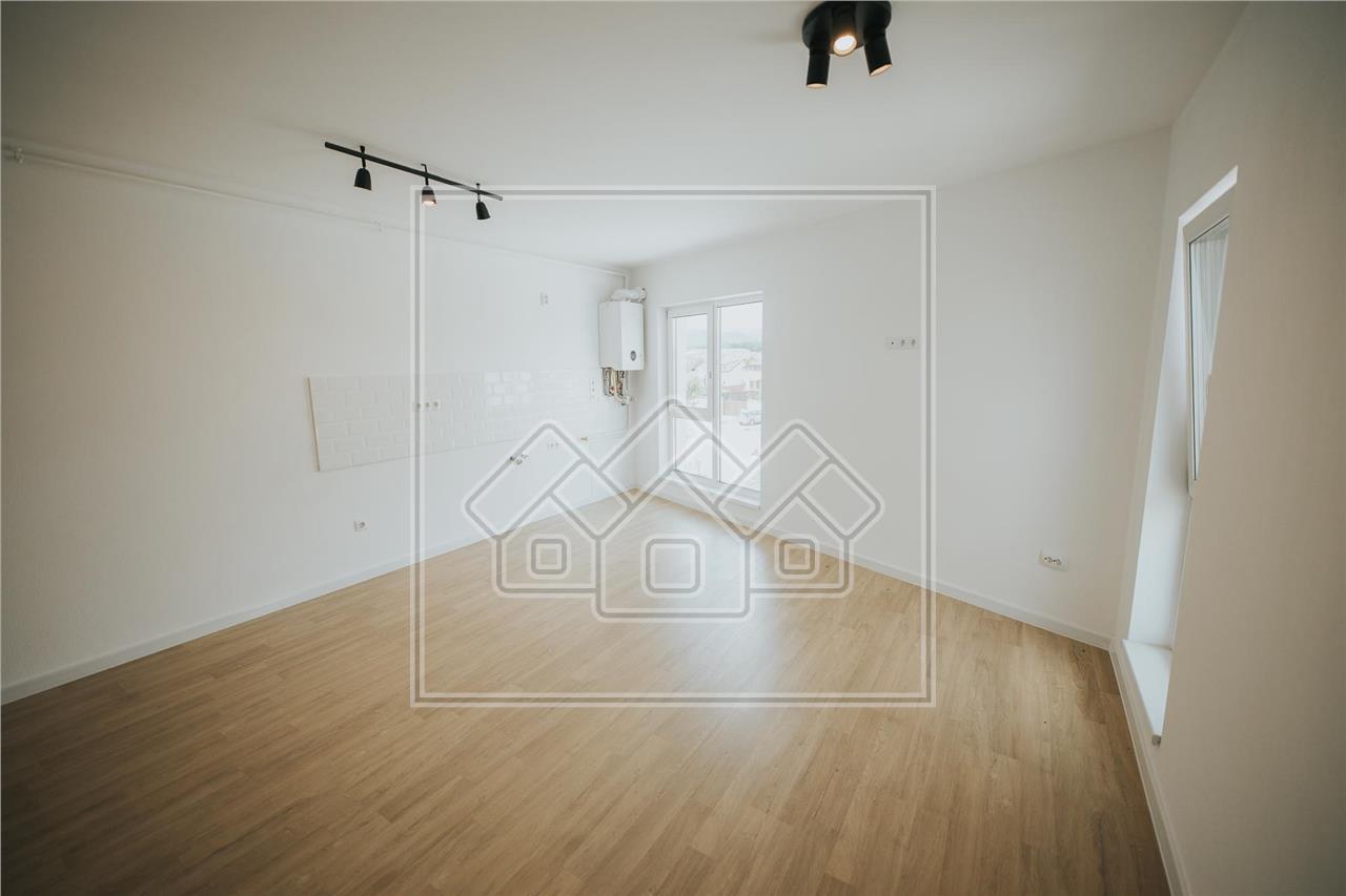 Apartament de vanzare in Sibiu - 2 camere - la vila - intabulat
