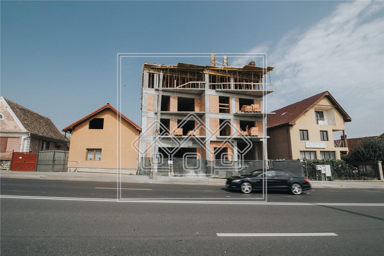 Apartament 3 camere de vanzare in Sibiu -imobil cu lift-Sos.Alba Iulia